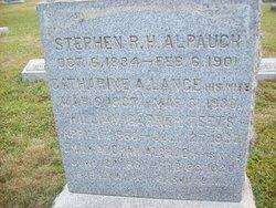 Catharine A. <i>Lance</i> Alpaugh