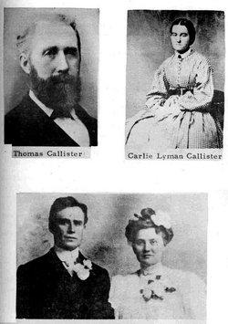 Caroline Eliza Carlie <i>Lyman</i> Callister