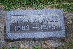 Emma May <i>Yetley</i> Manz