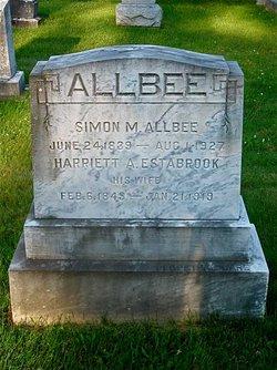 Harriet A. <i>Estabrook</i> Allbee