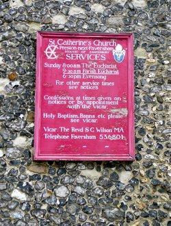 St Catherines Churchyard
