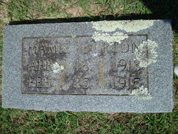 Mamie Lee Vernie Burton