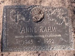 Lou Anne <i>May</i> Rahm