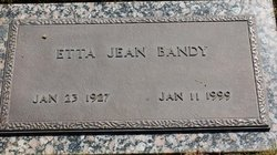 Etta Jean Bandy