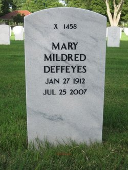 Mary Mildred <i>Johnson</i> Deffeyes