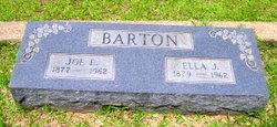 Joseph E Joe E Barton