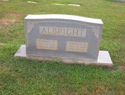 Martha Rebecca <i>Barger</i> Albright