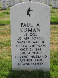 Paul A Eisman
