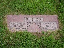 Ada Lee <i>McMullen Riggs</i> Brown