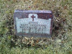Sr Mary Ferdinand Boeckmann