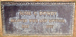 Susie Carolyn <i>Smith</i> Dowdy