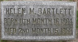 Helen M Bartlett