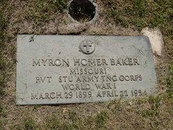 Myron Homer Baker