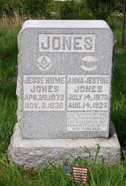 Anna Jestine <i>Yates</i> Jones