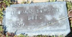 Thomas Edward Ellis