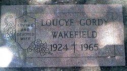 Loucye <i>Gordy</i> Wakefield