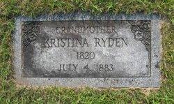 Kristina <i>Petersdotter</i> Ryden