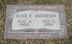 Alice Ella <i>Bennett</i> Anderson