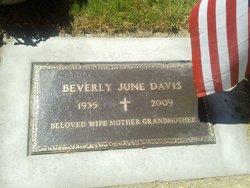 Beverly June June Davis