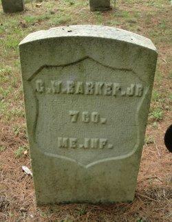 George W Barker, Jr
