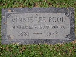 Minnie Lee <i>Bishop</i> Pool