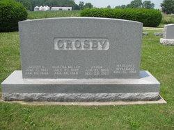 Margaret Jane <i>Applegate</i> Crosby