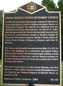 Indian Mission Cemetery