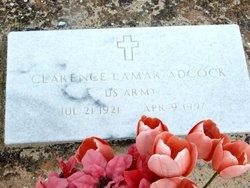 Clarence Lamar Adcock