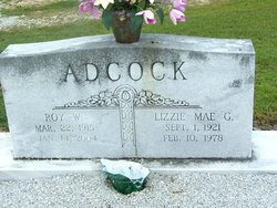 Lizzie Mae G. Adcock