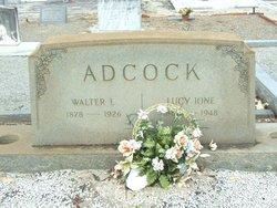Lucy Ione <i>McCue</i> Adcock