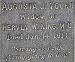 Augusta J <i>Young</i> King