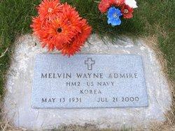 Melvin Wayne Admire
