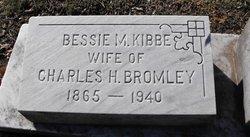 Bessie M <i>Kibbe</i> Bromley
