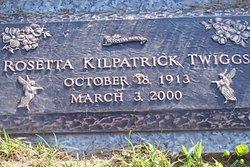 Rosetta <i>Kilpatrick</i> Twiggs