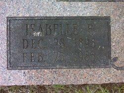 Isabelle F Benedict