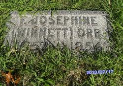 Frances Josephine <i>Winnett</i> Orr