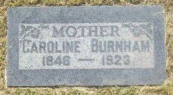 Caroline <i>Gilette</i> Burnham