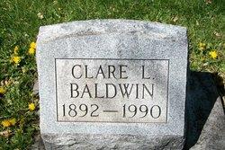 Clare L <i>Thomas</i> Baldwin