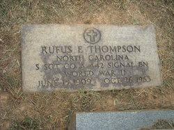 Rufus Everett Thompson