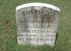 MaryAnn <i>Meade</i> Marks