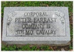 Corp Peter Farrast