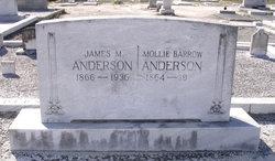 Mollie <i>Barrow</i> Anderson
