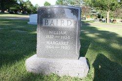 Margaret Sara Ann <i>Jackman</i> Baird