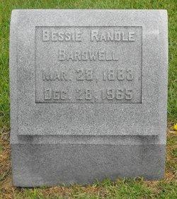Bessie <i>Randle</i> Bardwell
