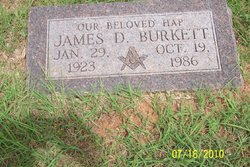 James D Hap Burkett