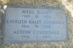 Kathleen <i>Haley</i> Coverdale
