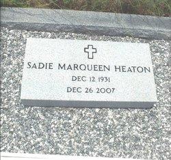 Sadie Marqueen <i>Phillips</i> Heaton