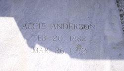 Algie E Anderson
