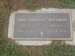 Oma Agnes <i>Saywers</i> Bateman