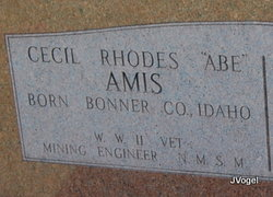 Cecil Rhodes Amis